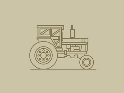 Farm Tractor machinevectors harvest downhome ag horsepower onthefarm tractor fromthefieldnotes
