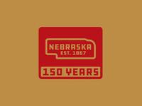 Nebraska - Est. 1867 - 150 Years