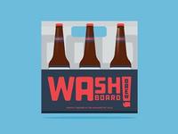 WAash BOARD BREW - Brewery - Washington - Package Design