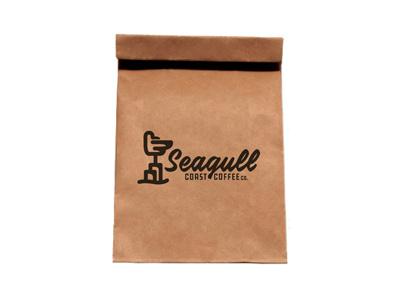 Seagull Coast Coffee Co. - Bag Design coffeebag cupofjoe brew seagullcoastcoffee brandev onthecoast lookout ontheshoreline seagull