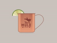 The Mule Kick - Copper Mug