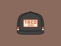 TACO SHOP - Lid