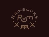 Ramblers Rum - Main Logo - Dark Waters