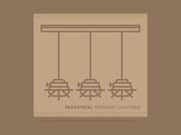 Industrial Pendant Lighting Packaging