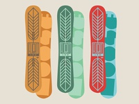 Feathers - MOOSE Snowboards - Series