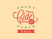 Front Porch Cider - Fall - Main Logo