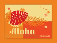 Aloha - Hawaii Trip Poster - Island Life
