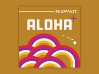 Aloha - Hawaii Trip Poster - Sunsets