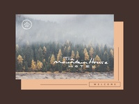 The Mountain House Hotel - Postcard