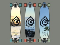 Riff Surf - Hawaii Collection - Long Board Design