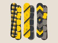 Plaid Cube - MOOSE Snowboards - Series