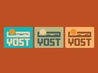 YOST - Outdoor Gear - Stickers
