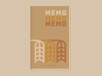 Memo Book - Agriculture - Wheat