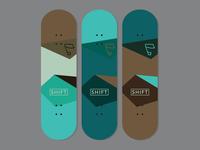 SHIFT Skateboard Decks