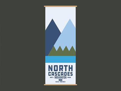 North Cascades - WSH - Nat'l Park - Poster
