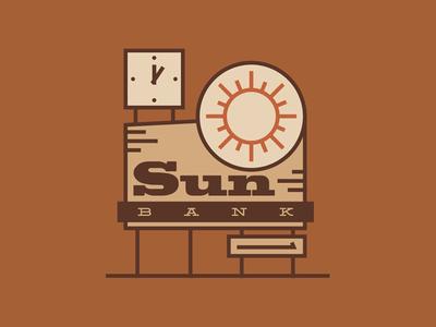 Sun Bank - Signage