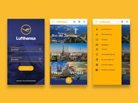 Lufthansa online booking