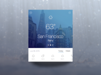 Weather Widget - San Francisco
