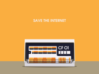 Cloudflare Save The Internet 1x