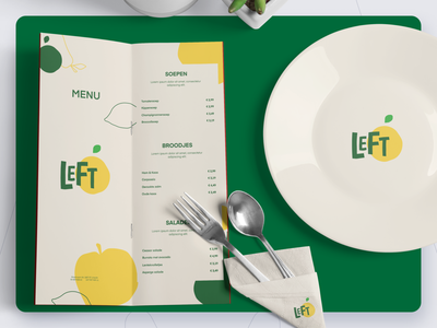 LEFT logo design recycle food graphic design visual design branding make it max design logo