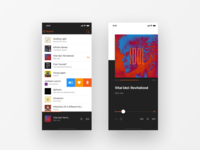 UI Daily, #009 – Music Player