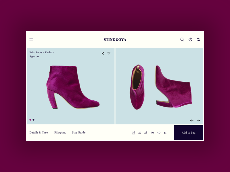 UI Daily, #033 – Customize Product
