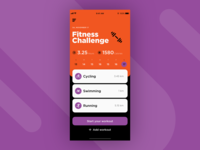 UI Daily, #041 – Workout Tracker