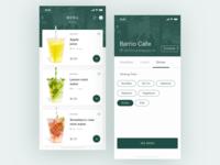 UI Daily, #043 – Food/Drink Menu