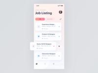 UI Daily, #050 – Job Listing