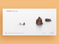 UI Daily, #057 – Video Player