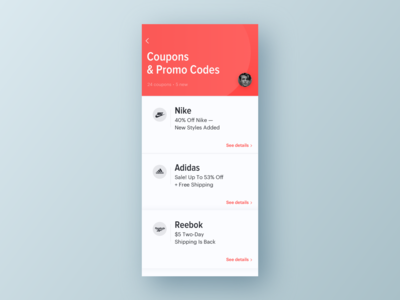 UI Daily, #061 – Redeem Coupon