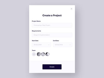 UI Daily, #090 – Create New create new form dailyui uidaily ui design