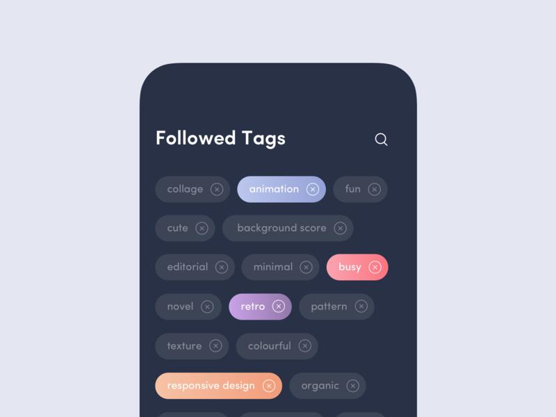 UI Daily, #099 – Categories tab categories ux app dailyui uidaily ui design