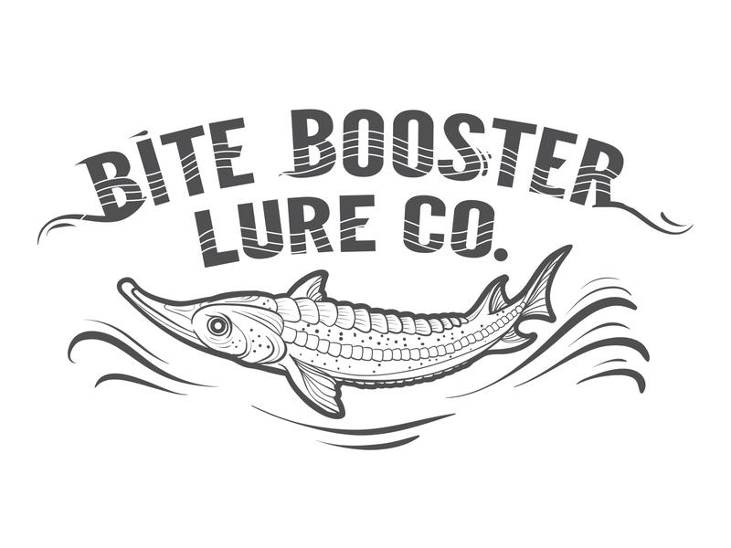 Logo for a fish farm typography branding logo business concept illustrator design art vector illustration