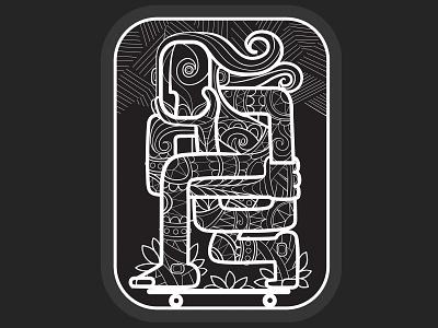 Snowboarder concept tshirt art branding logo people character design art illustration vector
