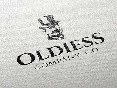 OLDIESS LOGO DESIGN VINTAGE MEN MAIORIZ old school men brand branding store gentleman logo design oldie clothing logotype logo engraving vintage old