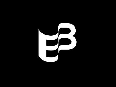 EB Letters Logotype identity sale flyer sale logo book book logo minimal branding design logo design eb logo e logo letter e lettering letter b abstract brand logo logotype design