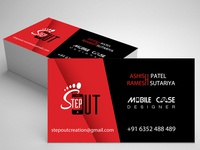 StepOut Visiting Card