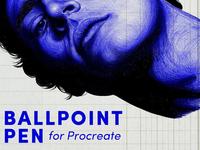 Ballpoint Pen Brush Procreate