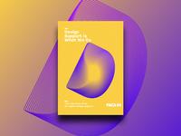Poster Design for FACE44