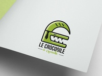 Le crocodile à cravate