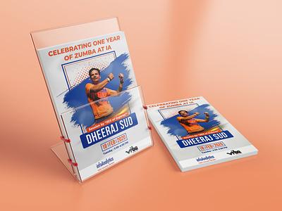Zumba Flyer Design fitness flyer concept design clear design logo graphics design visual design branding design agency design concept creative  design