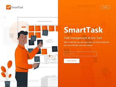 Smart Task Management design app design practice design process product features product design tool product design problem solving clear design minimalist ui design ux research concept design agency creative  design