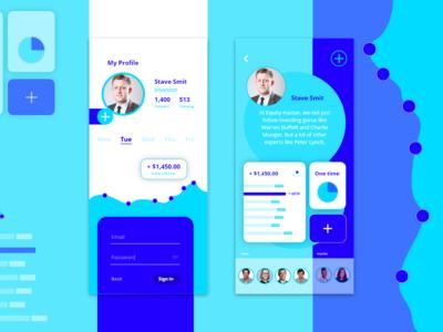 Stock Market App Design
