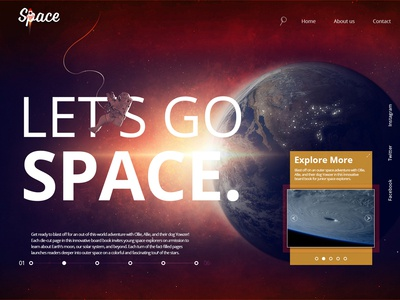 Space Equipment Manufacturer's Website