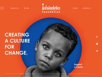 CSR website Landing page Design