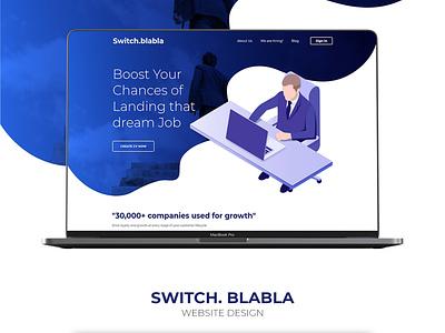 Resume Creator Website Concept website design graphics design visual design ui  ux design branding design agency design landing page concept concept creative  design
