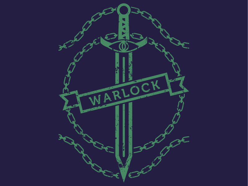 Warlock warlock dnd dungeons and dragons design art digital graphic design