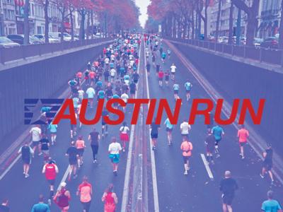 Austin Run Poster