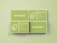 Avocado Business Cards